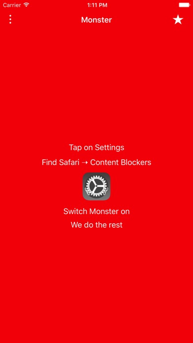 Monster Ad Blocker Screenshots