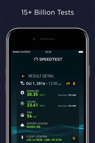 Speedtest by Ookla screenshot 2