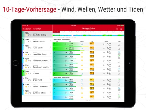 Windfinder Pro screenshot 1