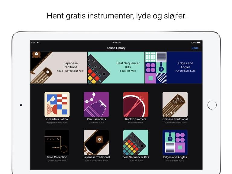 iPad Skærmbillede 2