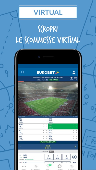 Screenshot of Eurobet Scommesse Sportive2