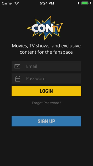 CONtv - Movies & TV Shows Screenshots