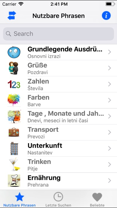 download PortosDicty Phrasen Deu/Slo apps 1