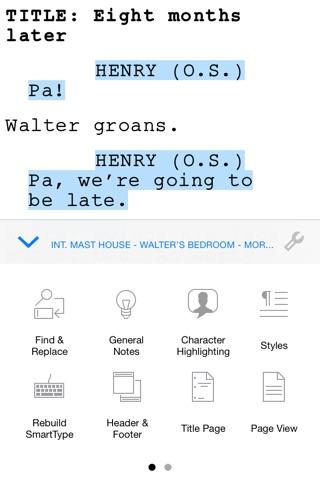 Final Draft Writer screenshot 3