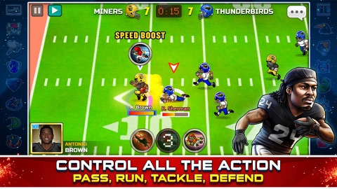 Screenshot #13 for Football Heroes Pro Online - NFL Players Unleashed