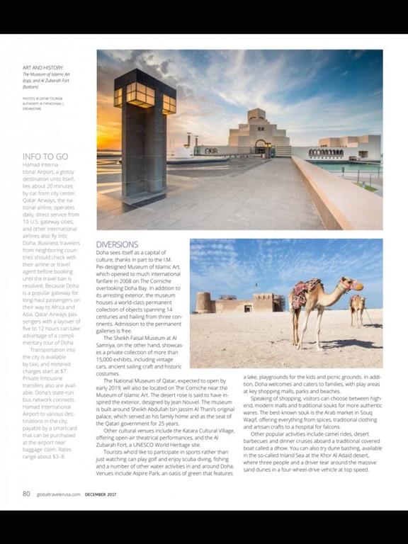 Global Traveler Magazine Review