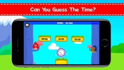 download Kindergarten Time Telling Game appstore review