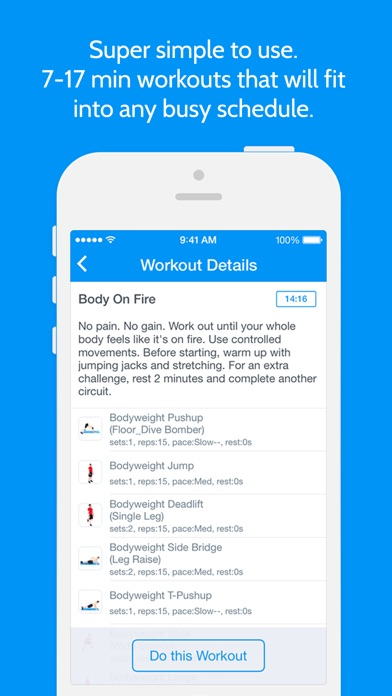 download Instant Fitness: Workout Trainer appstore review