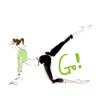 KIM KON KET - Gymnastics Yoga Animated  artwork