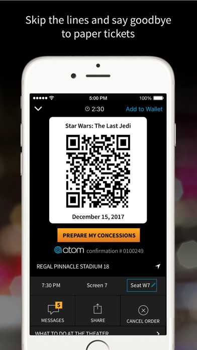 download Atom - Movie Tickets & Times apps 2