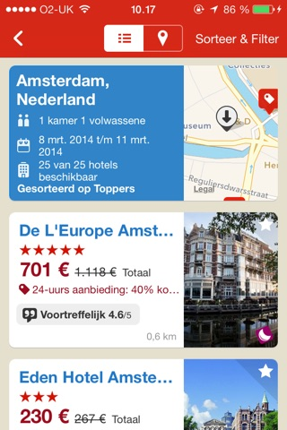 Hotels.com - Hotel booking screenshot 3
