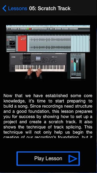 Elite Audio Recording Course Screenshots