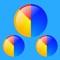 マルチ円グラフタイマー/ 6個のタイマーが同時に動く便利アプリ