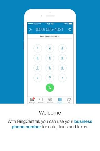 RingCentral Phone screenshot 1