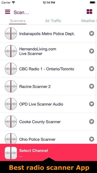 Police & radio scanners liveScreenshot of 1