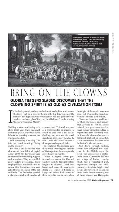 History Magazine review screenshots