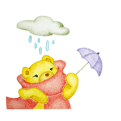 Watercolor Warm Bear Sticker app review