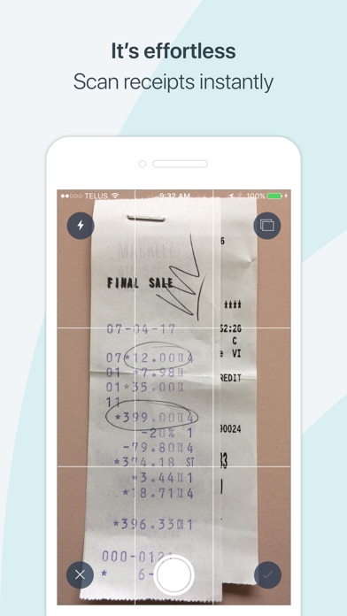 How To Make A Fake Receipt Pdf Receipts By Wave On The App Store Lic Policy Payment Receipt Pdf with Tuna Receipt Word Iphone Screenshot  On Line Invoice Excel