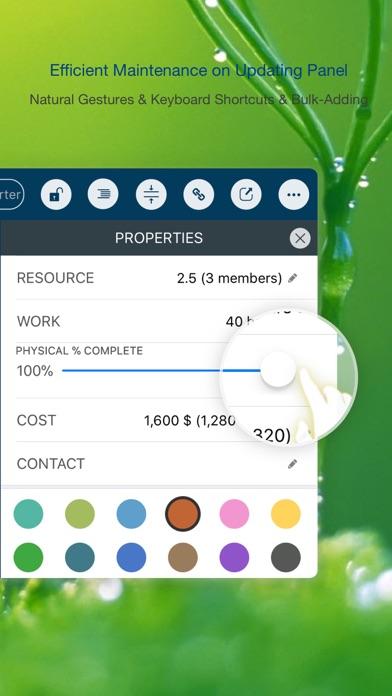 QuickPlan ∙ Project Management Screenshots