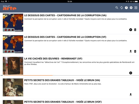 Educ'ARTE screenshot 2