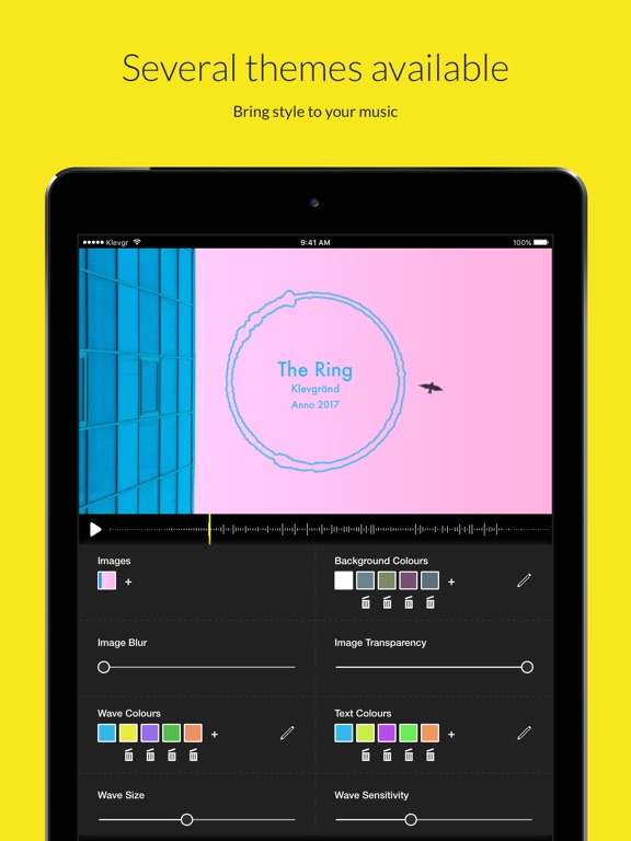 Wizibel - Audio Visualizer IPA Cracked for iOS Free Download