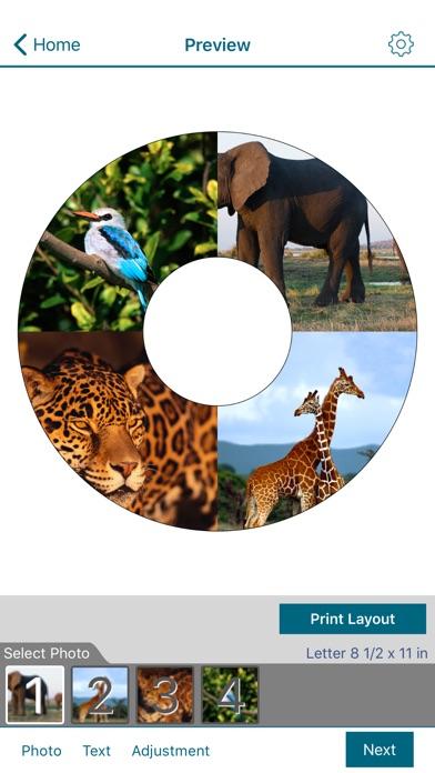 Epson Creative PrintCapture d'écran de 4