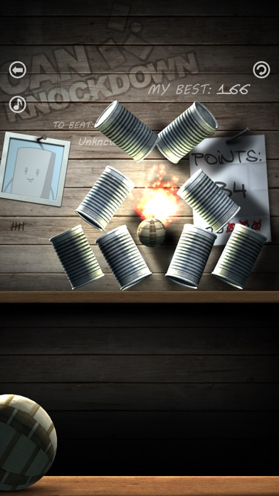 Screenshots of Can Knockdown for iPhone