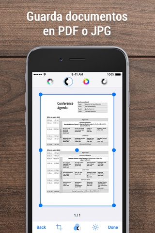 iScanner - PDF Scanner App. screenshot 2