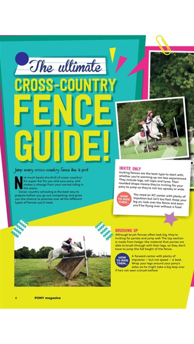 Pony Magazine review screenshots