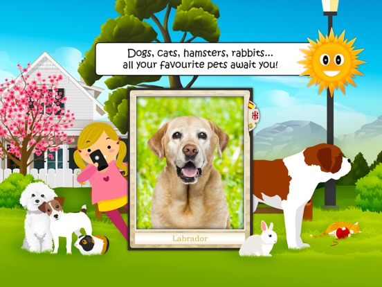 Find Them All: My Pets for iOS - Interactive Educational App Image