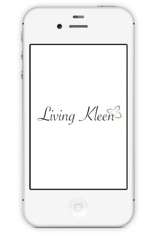 LivingKLEEN screenshot 1