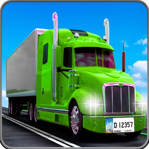 Cargo Truck Parking Legend 3D