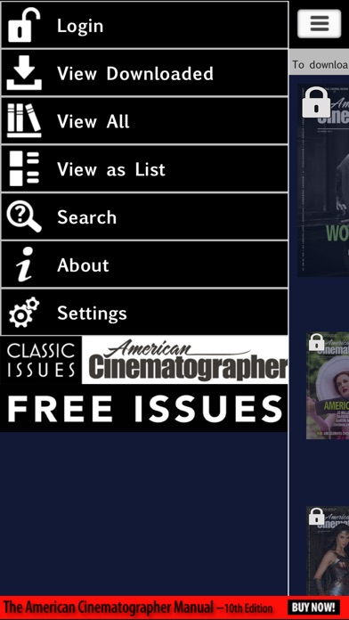 American Cinematographer Mag review screenshots
