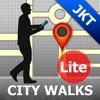 Jakarta Map and Walks