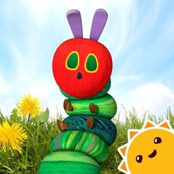 My Very Hungry Caterpillar AR app for iphone
