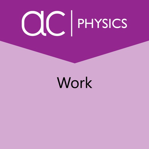 the concept of work in the
