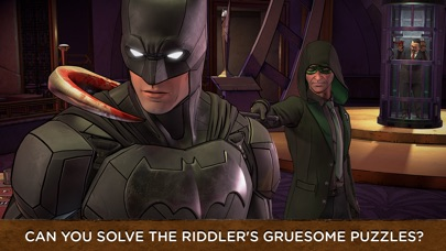 Batman: The Enemy Within iOS Screenshots