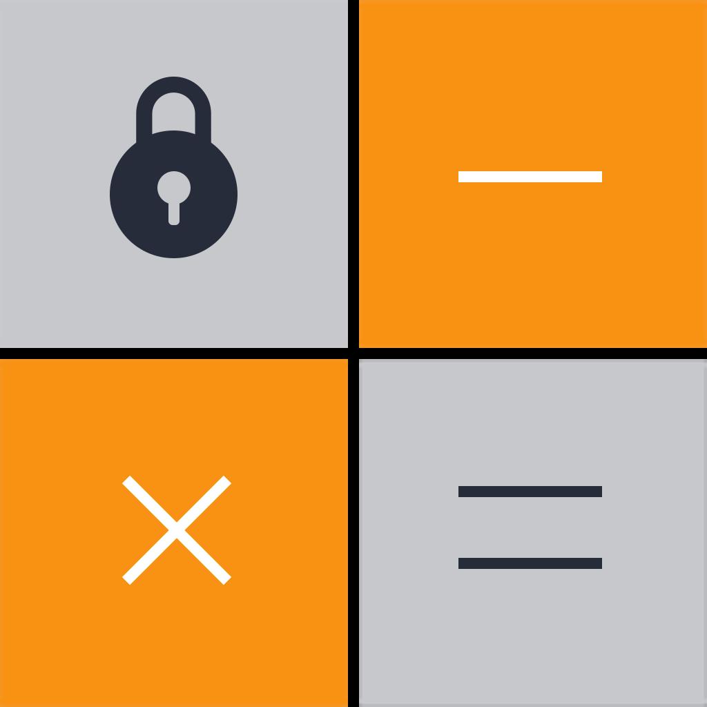 Secret calculator icon