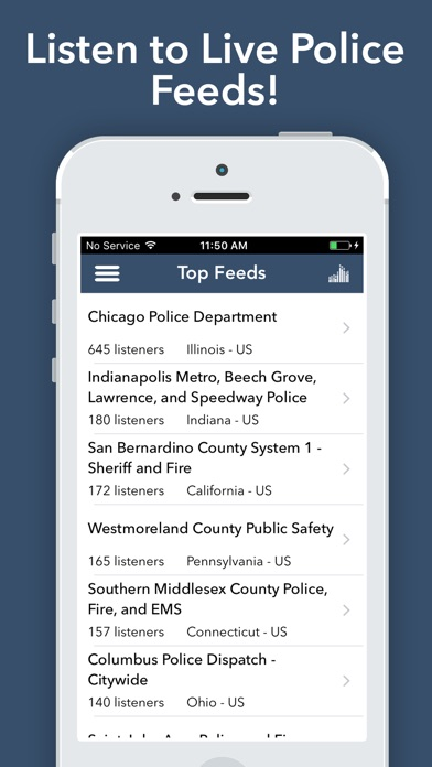Police Scanner Radio - Pro Screenshot