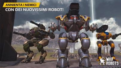 Screenshot of War Robots1