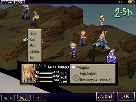 Игра FINAL FANTASY TACTICS: THE WAR OF THE LIONS (iPad)