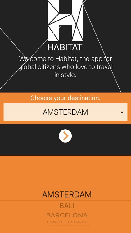 travel app amsterdam