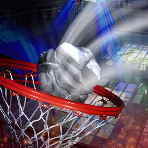 Basket Paper Flick Pocket Pro - La Top Basket tiro libero gioco della galleria