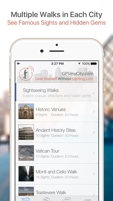 San Francisco Walking Tours and Map Screenshot 1