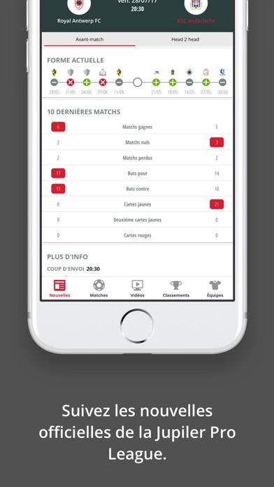Jupiler Pro League - officialCapture d'écran de 4