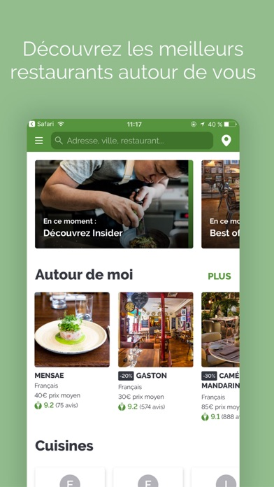 download LaFourchette Restaurants apps 2