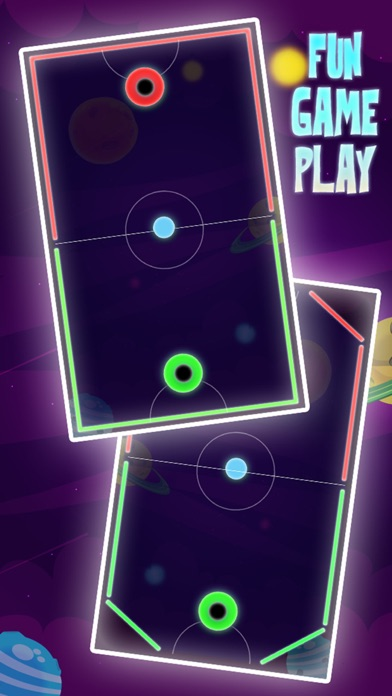 Color Hockey - Space Arena Скриншоты3