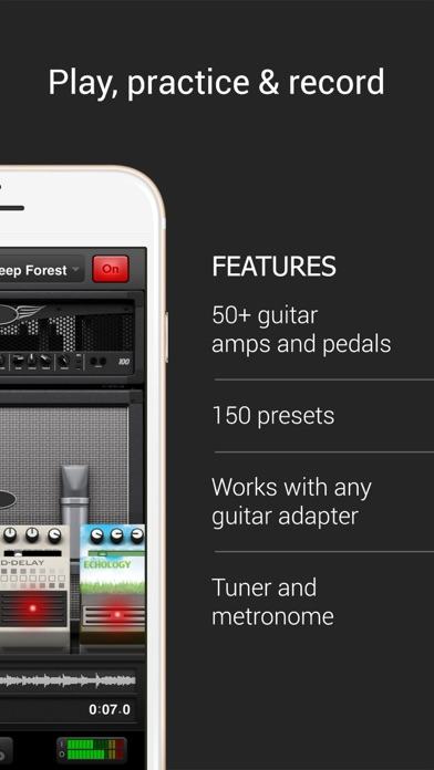 AmpKit+ guitar amps & pedals Screenshots