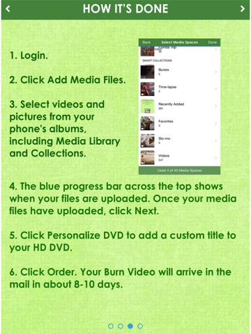 Burn Video -Memories Delivered screenshot 4