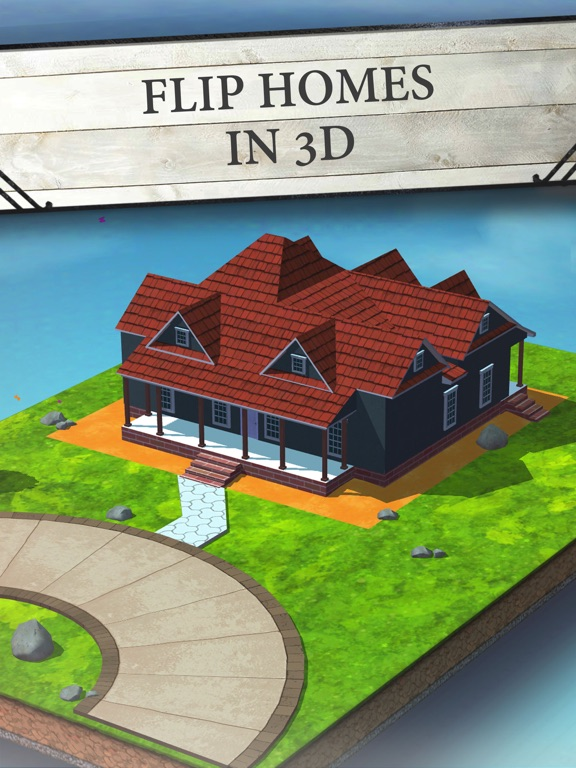 Screenshots of House Flip with Chip and Jo for iPad